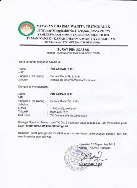 CARA DAFTAR AKUN SDM PDSP E-VERVALSP – WEBSITE TK DHARMA ...