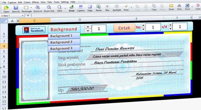 Aplikasi Kwitansi Excel Website Tk Dharma Wanita Ii Kamulan